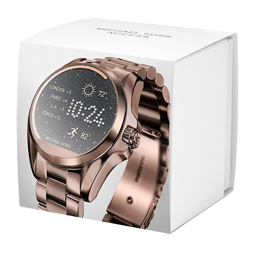f7ba2ffc14327 Relogio Smartwatch Michael Kors Mkt5007- Touch Screen, Bronze - Bessalle