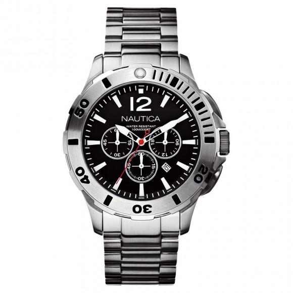 1a02549797a Relógio Nautica A20098G-Resistência à água até 100 metros - Bessalle