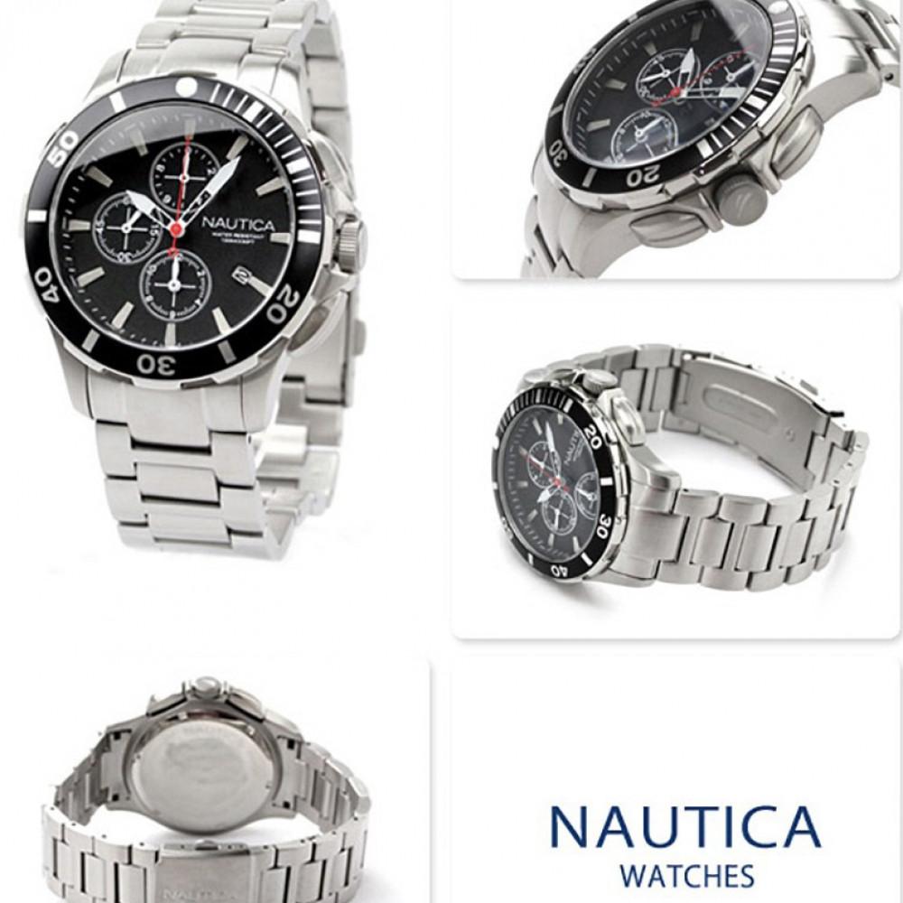 71d20c08e4c Relógio Nautica A20507G-Resistência à água até 100 metros - Bessalle