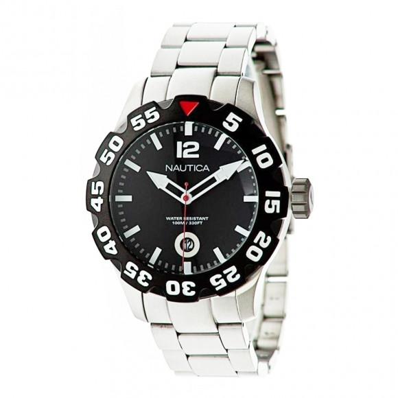 aa851368137 Relógio Nautica N18622G-Resistência à água até 100 metros - Bessalle
