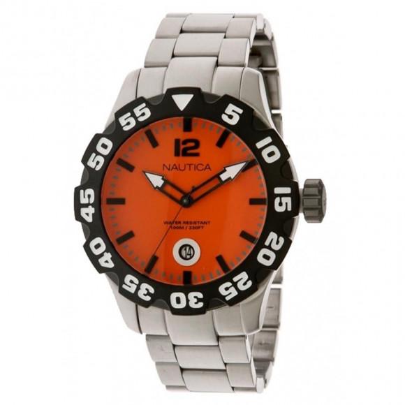fc2df658e9a Relógio Nautica N18623G-Resistência à água até 100 metros - Bessalle