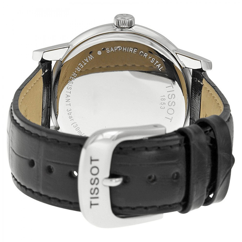 47bdb028dfb Relógio Tissot Carson T0854101601300 - Resistência à água até 30 metros -  Bessalle