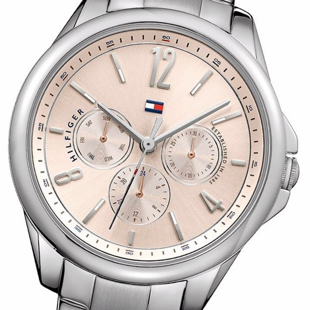 80596bde6e4 Relógio Tommy Hilfiger 1781826-Resistência à água até 30 metros - Bessalle