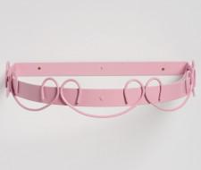 Dossel Infantil Arabesco 40cm x 35cm - Rosê