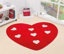Tapete Formato Big Coração - Vermelho