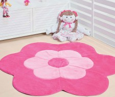 Tapete Formato Big Margarida Dupla - Pink