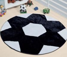 Tapete Formato Big Bola - Preto/Branco