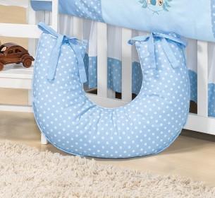 Almofada de Amamentação Urso Baby Azul