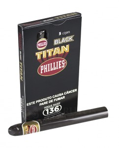 Charuto Phillies Titan Black Ptc (05)