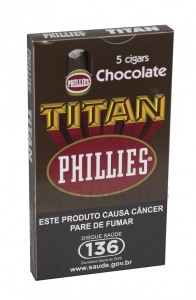 Charuto Phillies Titan Chocolate Ptc (05)
