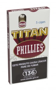 Charuto Phillies Titan Natural Ptc (05)
