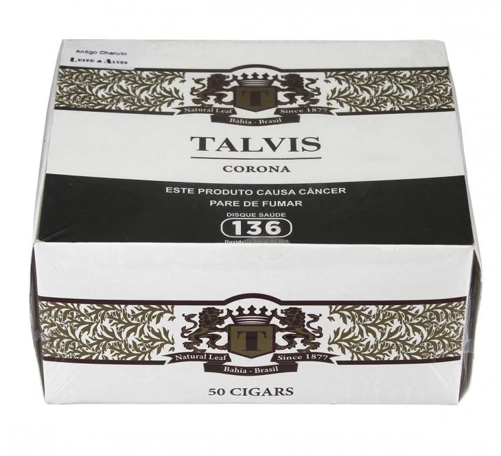 540fc51190 Charuto Talvis Corona Chocolate Cx (50) - Compre Charutos e ...