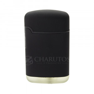 Isqueiro 01 Chama V-Fire Easy Torch - Preto