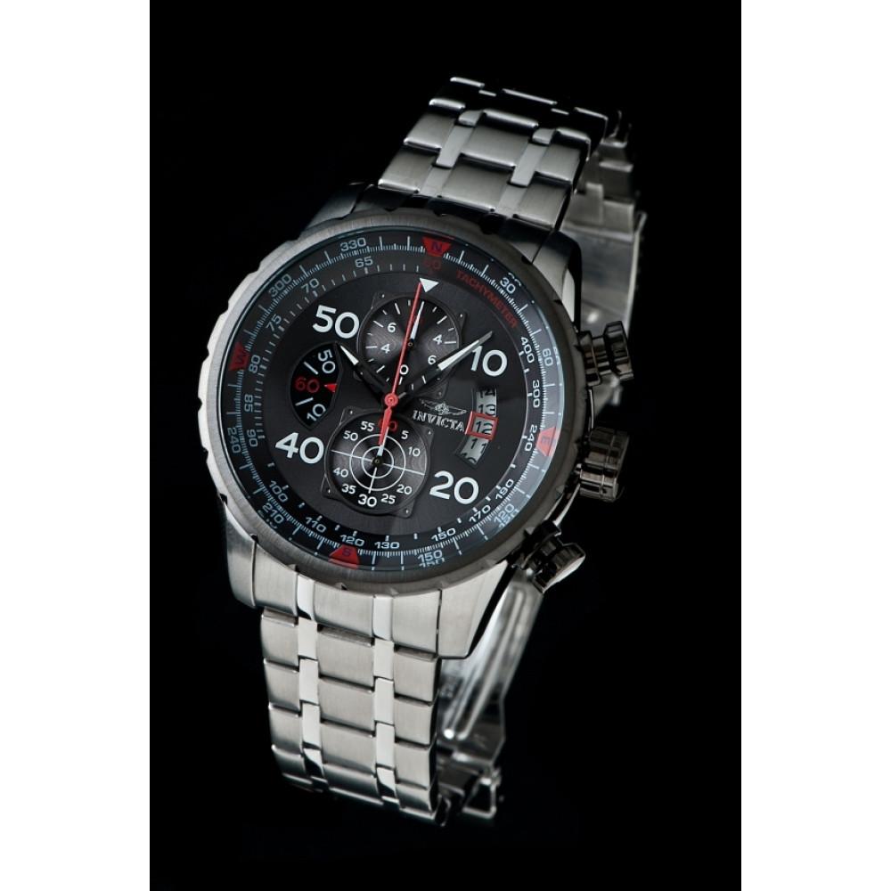 4142a49fe99 Relógio Invicta Aviator 17204 - Prata