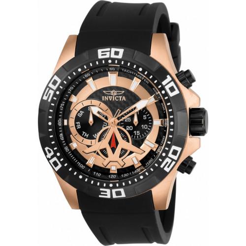 cbdcf080c5e Relógio Invicta Aviator 21740 - Ouro Rosê 18K
