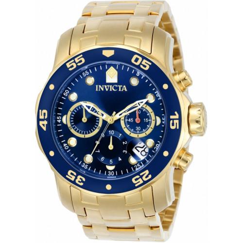 ead24066c95 Relógio Invicta Pro Diver 0073 - Ouro 18K