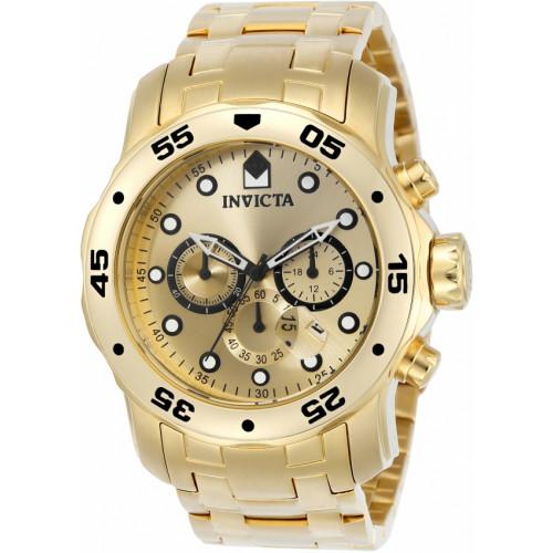 73c4320e866 Relógio Invicta Pro Diver 0074 - Ouro 18K