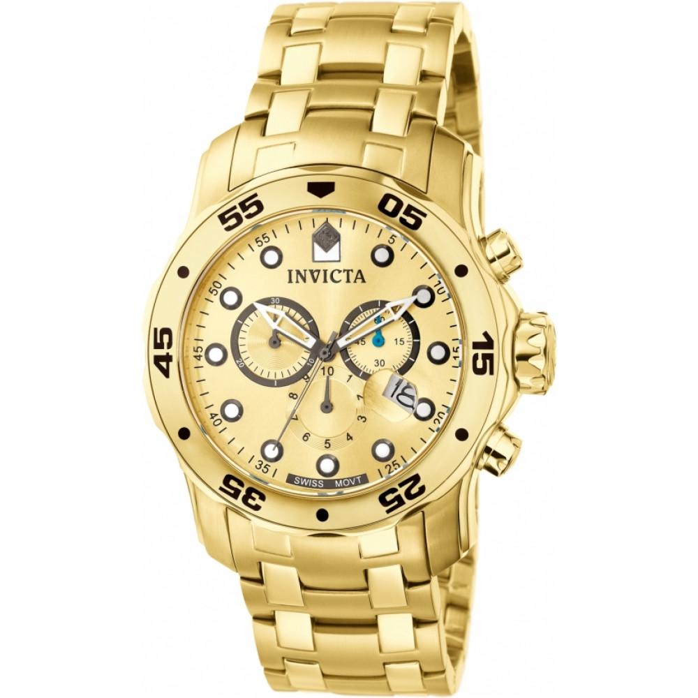 87e5d01b1e4 Relógio Invicta Pro Diver 0074 - Ouro 18K