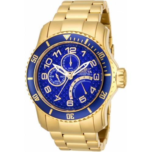 77aefc43b24 Relógio Invicta Pro Diver 15342 - Ouro 18K