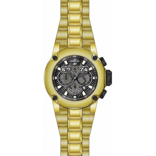63a79576683 Relógio Invicta S1 Rally 25296 - Ouro 18K