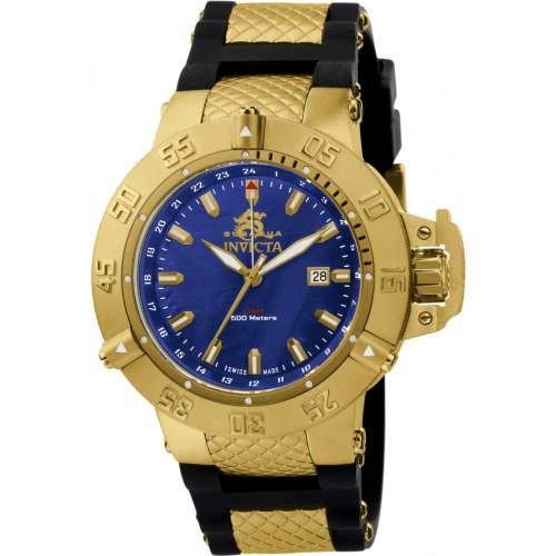 294ad39860b Relógio Invicta Subaqua 1150 - Ouro 18K