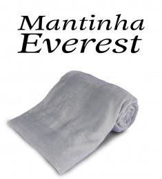 Mantinha Everest Cinza