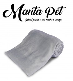 Mantinha Pet Toy Everest Cinza