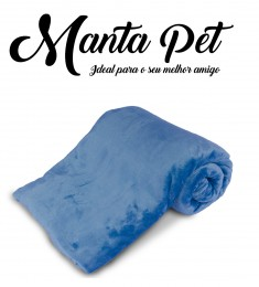 Mantinha Pet Toy Everest Indigo