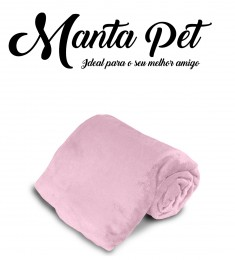 Mantinha Pet Toy Everest Rosa Antigo