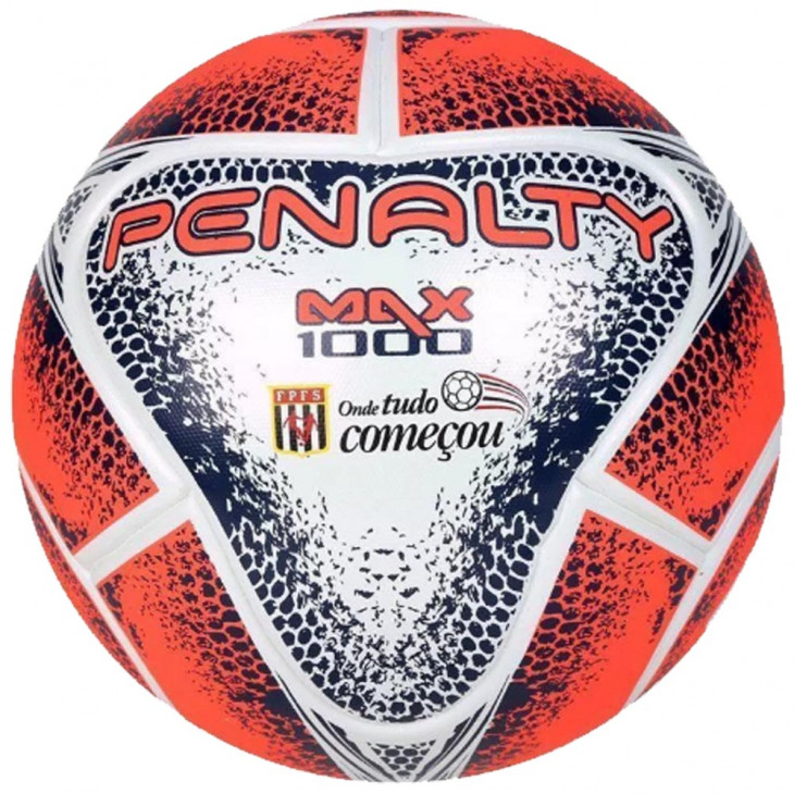 14d6ba0a69f44 bola penalty futsal max 1000 fpfs viii profissional - Mania de Futsal