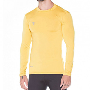 c03b606f2460b Camisa Compressão Super Bolla Manga Longa Amarela