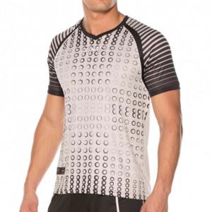Camisa Goleiro Rinat Keeper Prata com Preto Número 1