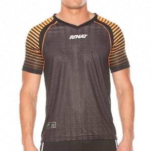 Camisa Goleiro Rinat Keeper Preto com Laranja Número 1