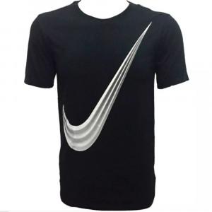 29e62f6b9e Camiseta Nike Manga Curta Mens Logo Preta