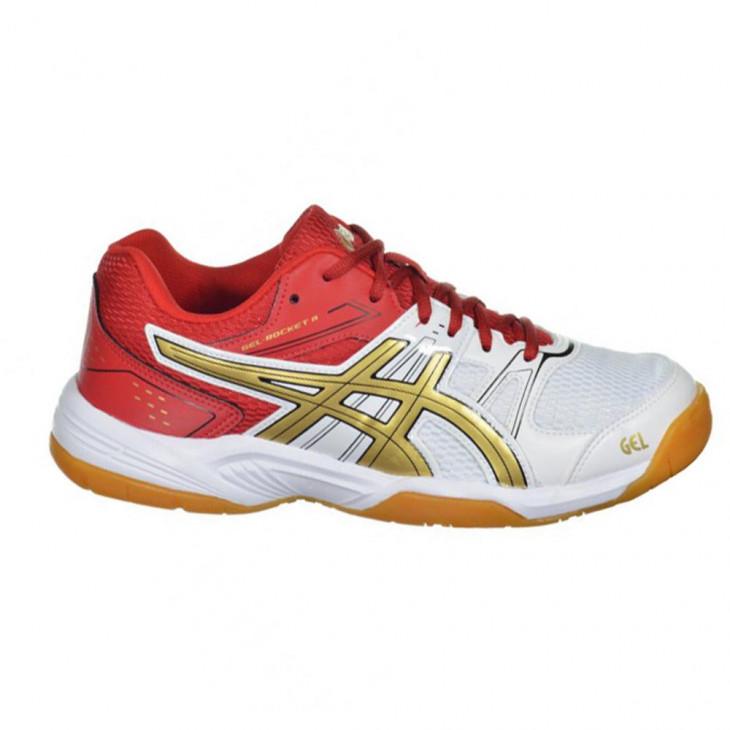 2ae8b39d59 tenis asics gel rocket 7a - Mania de Futsal