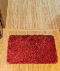 Tapete Prime Volpi perfil médio 40x60cm Vermelho