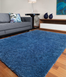 Tapete Realce Jolitex 1,50 x 2,00M Azul Base Antiderrapante